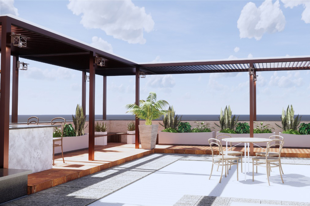 terrace ideas by Studio Square Design Co by Studio Square Design co.